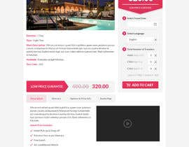 nº 33 pour Website mockup: one page par uniqueclick