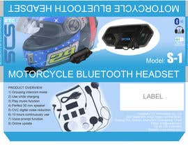 SkeR tarafından Design package for Motorcycle Bluetooth Headset için no 2