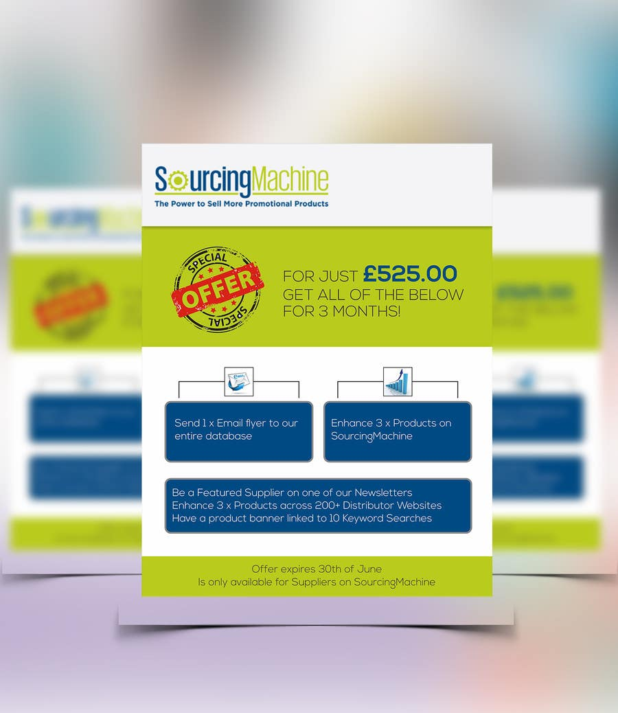 create email flyer | Template