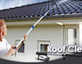 #15 cho Make banner for roofcleaning service. Will open for more related jobs as well bởi Sahir75