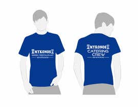 #45 untuk Design a T-Shirt for Mykonos Greek Restaurant oleh tatuscois