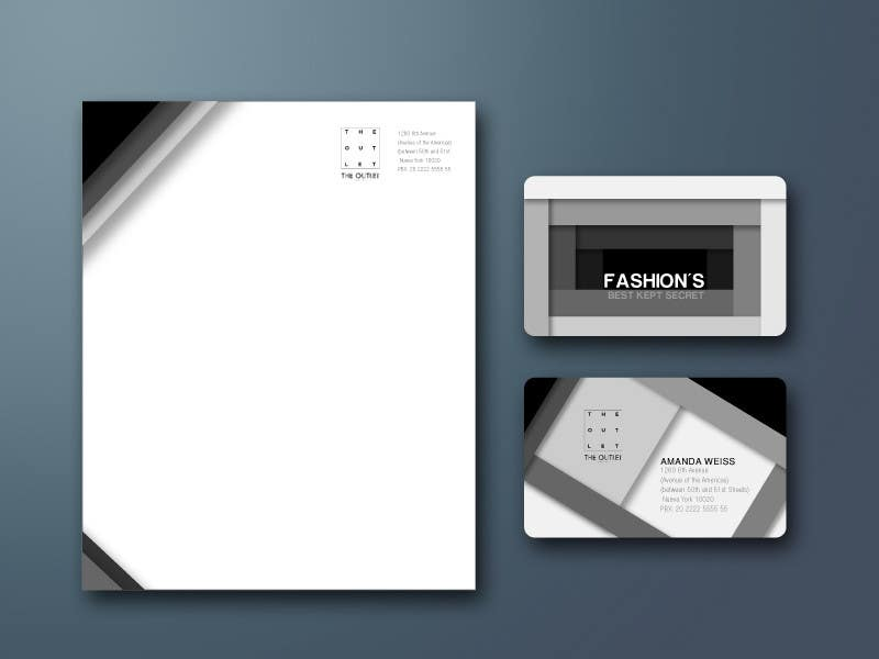 Contest Entry #48 for Business Card Design for The Outlet Fashion Company