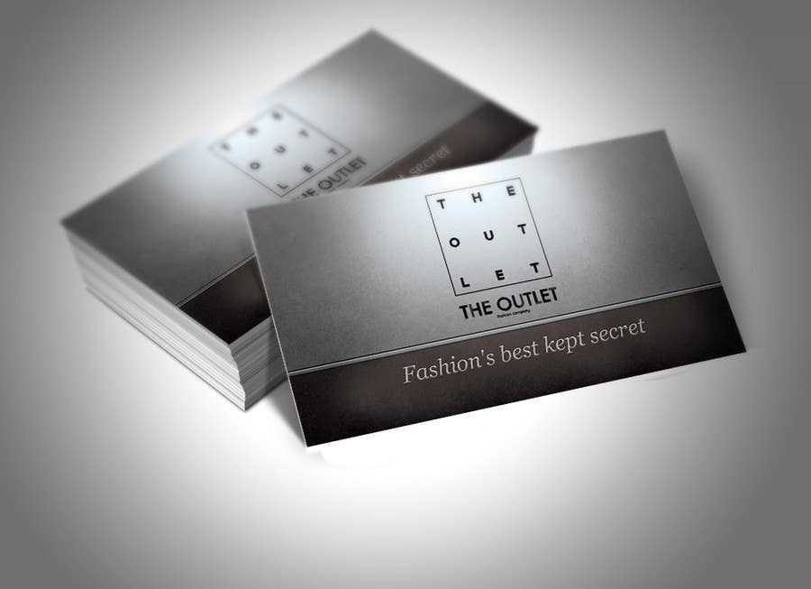 Penyertaan Peraduan #                                        67                                      untuk                                         Business Card Design for The Outlet Fashion Company