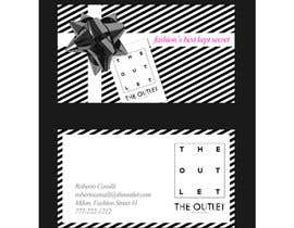#82 untuk Business Card Design for The Outlet Fashion Company oleh Gonherdesign