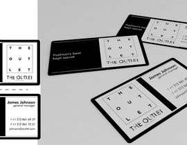 #71 untuk Business Card Design for The Outlet Fashion Company oleh andresurov