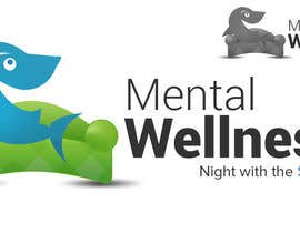 #20 for Design a Logo for Mental Wellness Night with the Sharks! by geniedesignssl