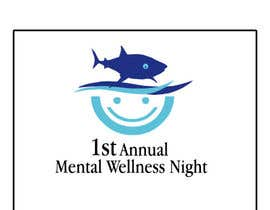 #3 for Design a Logo for Mental Wellness Night with the Sharks! af hassanshah1234