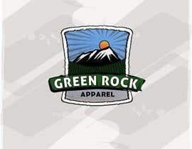 #29 para Design a Logo for Green Rock Apparel por ammyrox