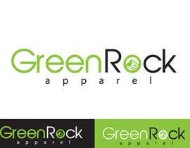 #30 para Design a Logo for Green Rock Apparel por inspirativ