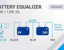 Nro 4 kilpailuun Product label for charging equaliser käyttäjältä vivekdaneapen