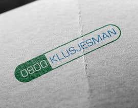 Nro 43 kilpailuun New logo for 0800klusjesman.nl käyttäjältä DannicStudio