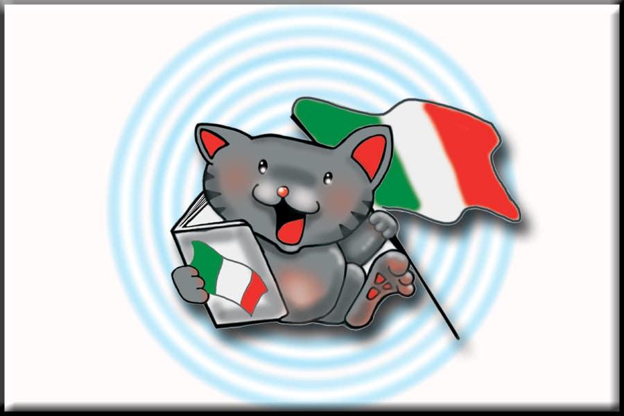 Kilpailutyö #112 kilpailussa Mascot Design for Go! Go! Italia
