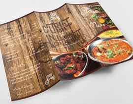 Nro 33 kilpailuun Design a Brochure(A4 FOLDED)  FOR Curry Hurry käyttäjältä ElegantConcept77