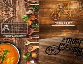 Nro 19 kilpailuun Design a Brochure(A4 FOLDED)  FOR Curry Hurry käyttäjältä dezsign