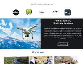 Nro 8 kilpailuun Design a WordPress Mockup - One Page Site käyttäjältä lassoarts