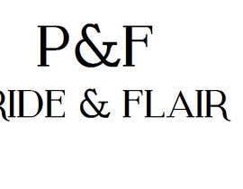 Nro 107 kilpailuun Diseñar un logotipo para la marca de ropa femenina Pride and Flair käyttäjältä eribugui