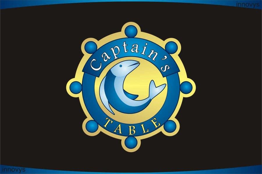 Penyertaan Peraduan #95 untuk Design a logo for the brand 'Captain's Table'