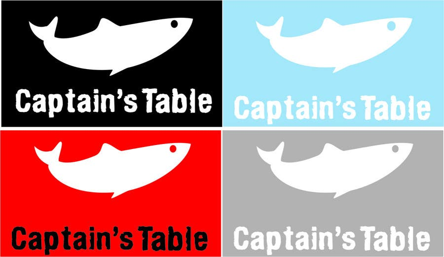 Konkurrenceindlæg #                                        8                                      for                                         Design a logo for the brand 'Captain's Table'