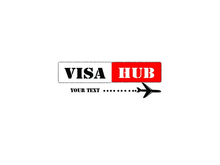 #166 for Logo Design for Visa Hub by muhammadqasim01