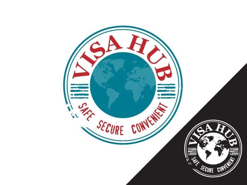 #102 for Logo Design for Visa Hub by egreener