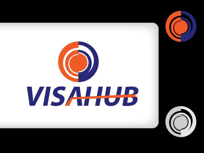 #25 for Logo Design for Visa Hub by rapfreedom