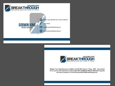 #108 para Develop a Corporate Identity for BREAKTHROUGH ORGANIZATION por rraja14