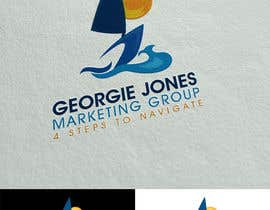 Nro 58 kilpailuun :Design a Logo for a new business: georgie jones 4 step marketing group käyttäjältä colorgraphicz