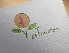Nro 7 kilpailuun Yoga Travellers Logo design käyttäjältä mustafadidaamiri