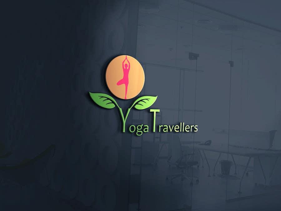 Kilpailutyö #8 kilpailussa Yoga Travellers Logo design