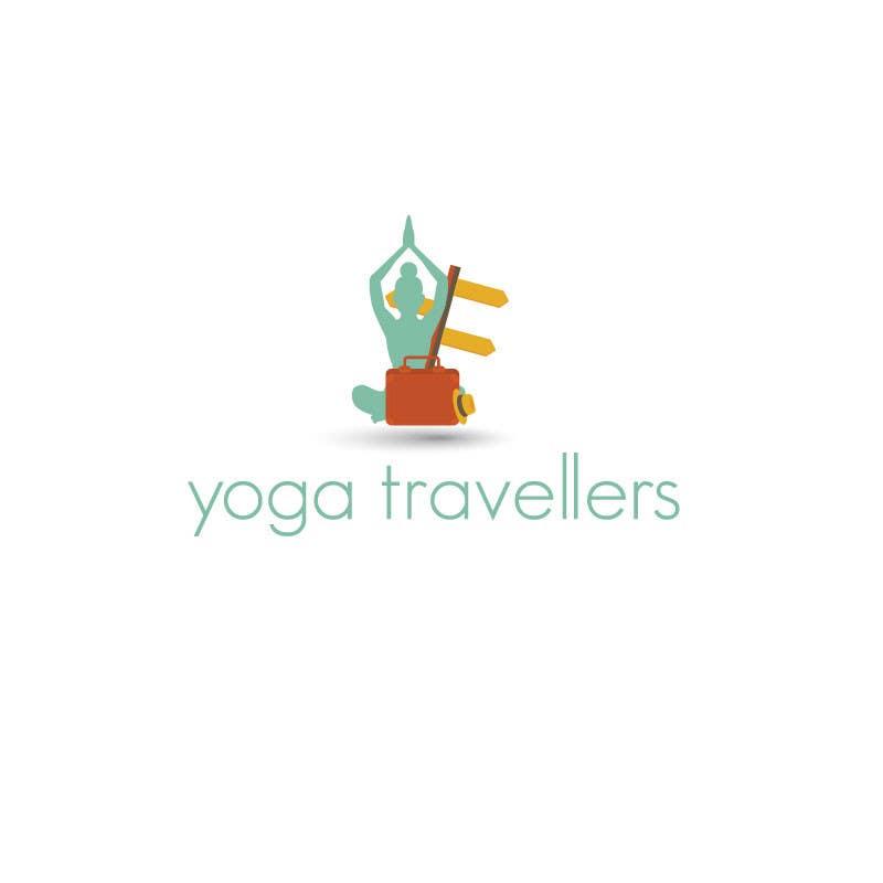 Kilpailutyö #20 kilpailussa Yoga Travellers Logo design