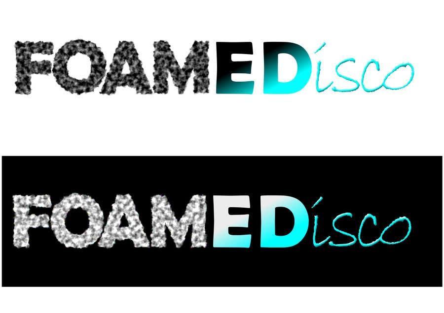 Kilpailutyö #94 kilpailussa Foamedisco logo