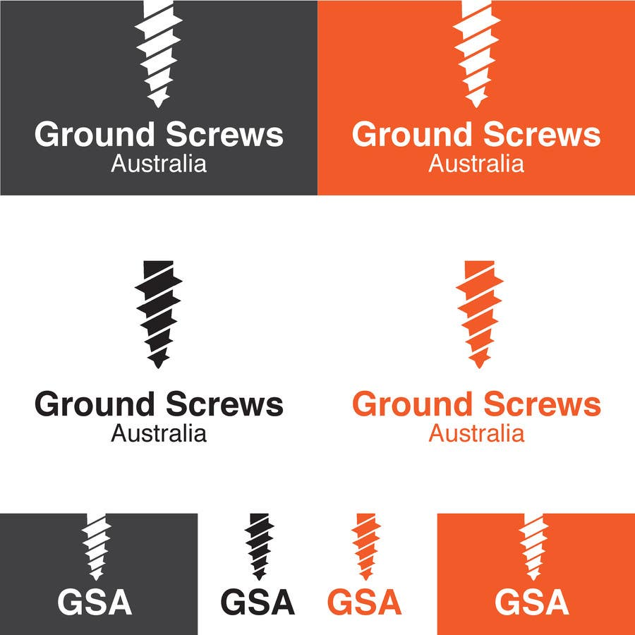 Contest Entry #20 for Design a Logo for Ground Screws Australia