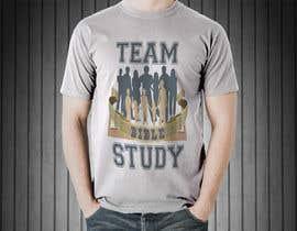 Nro 24 kilpailuun Design a TShirt Design (TEAM BIBLE STUDY) käyttäjältä koopulhomebiz