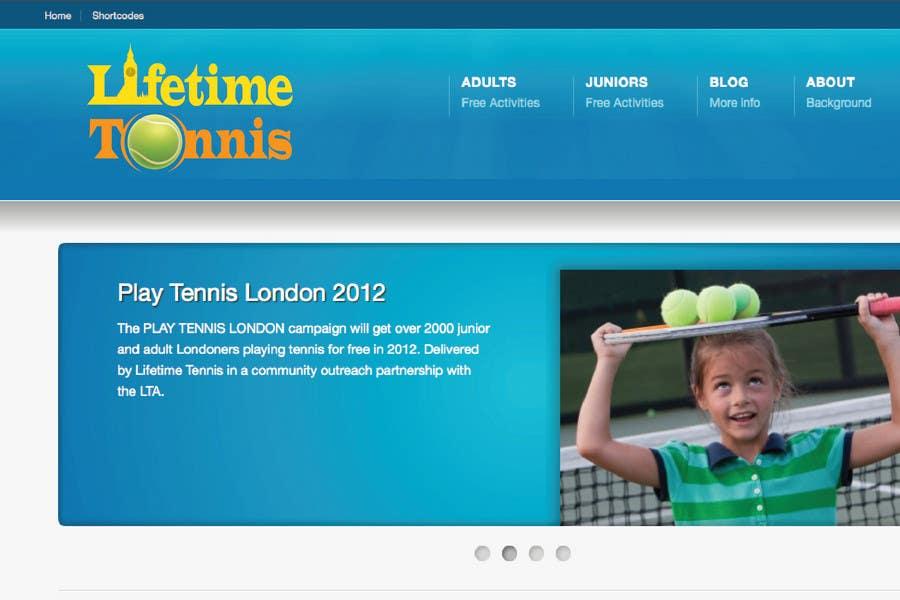 Entri Kontes #45 untukLogo Design for Lifetime Tennis