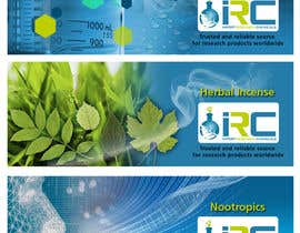 #4 para Banner Ad Design for Import Research Chemicals por sunanda1956