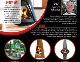 #16 untuk Design a Flyer for my company selling fireplaces oleh Pendosa