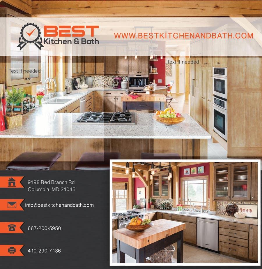 Advertisement flyer design for kitchen remodeling company for Kitchen remodeling companies