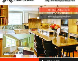 #10 for Advertisement/Flyer Design for Kitchen Remodeling Company by phthai