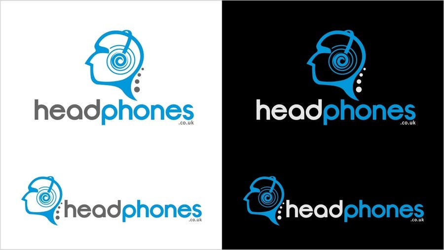 #377 for Design a Logo for Headphones.co.uk by arteq04