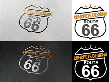 Graphic Design Contest Entry #81 for Route 66 Logo