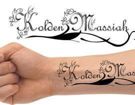 Nro 21 kilpailuun Tattoo Lettering käyttäjältä Rightwaydesign