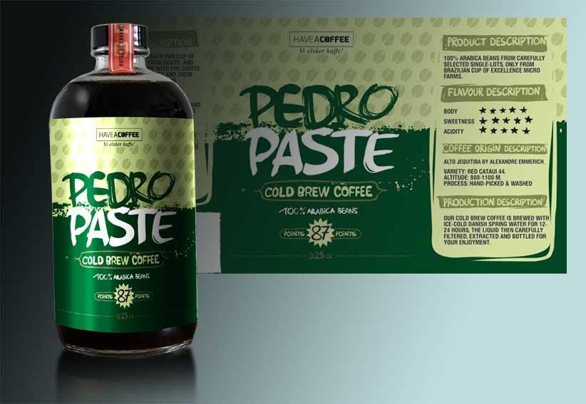Kilpailutyö #43 kilpailussa Label design for a bottle (Cold brew coffee)