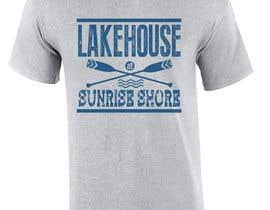 andriantoeko tarafından Design a lake house T-Shirt için no 62