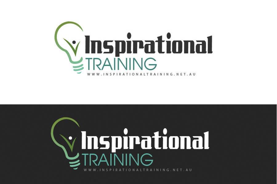 Inscrição nº 118 do Concurso para Graphic Design for Inspirational Training Logo
