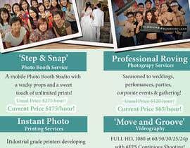 Nro 10 kilpailuun Design flyer for photography studio käyttäjältä jassna