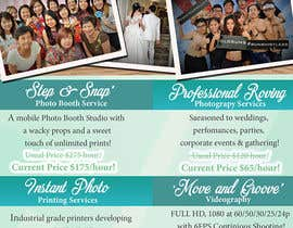 Nro 21 kilpailuun Design flyer for photography studio käyttäjältä jassna