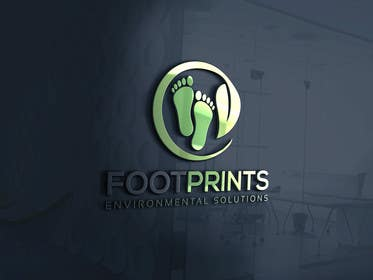 ingamul tarafından Logo for Footprints Environmental Solutions için no 21