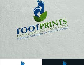 colorgraphicz tarafından Logo for Footprints Environmental Solutions için no 10