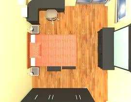 #7 for bedroom interior design by atcad108