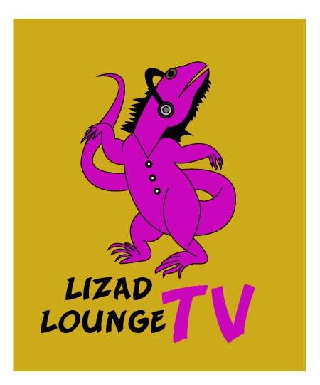 Bài tham dự cuộc thi #48 cho Logo design for live event streaming website: Lizard Lounge Tv